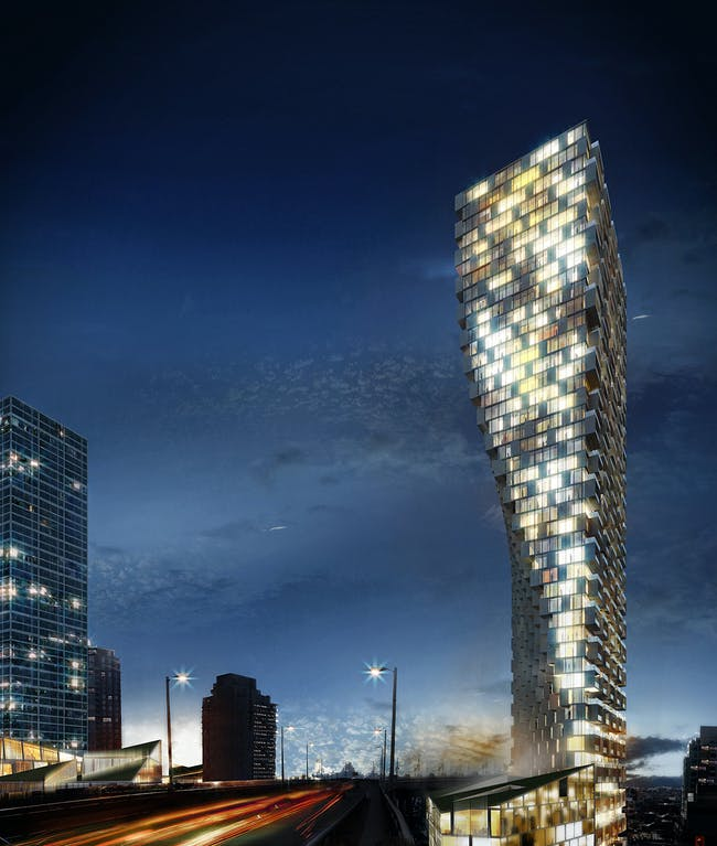 FUTURE PROJECTS - Residential winner: Vancouver House | Canada. Designed by BIG - Bjarke Ingels Group.