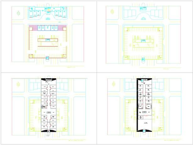 Various Floor Plans