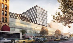 Bjarke Ingels' curvy East Harlem tower tops out