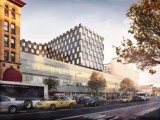 Rendering of E126 courtesy of Bjarke Ingels Group