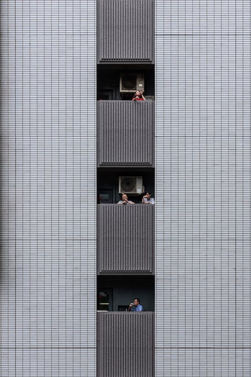 Buildings in Use: An office building in Tokyo, Japan. Photographer credit: Yi-Hsien Lee/APA19/Sto.