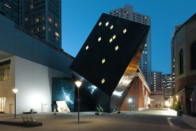 Contemporary Jewish Museum by Daniel Libeskind. Photo: bitter bredt.