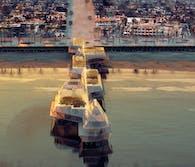 The Sustainable Pier in Huntington Beach, California