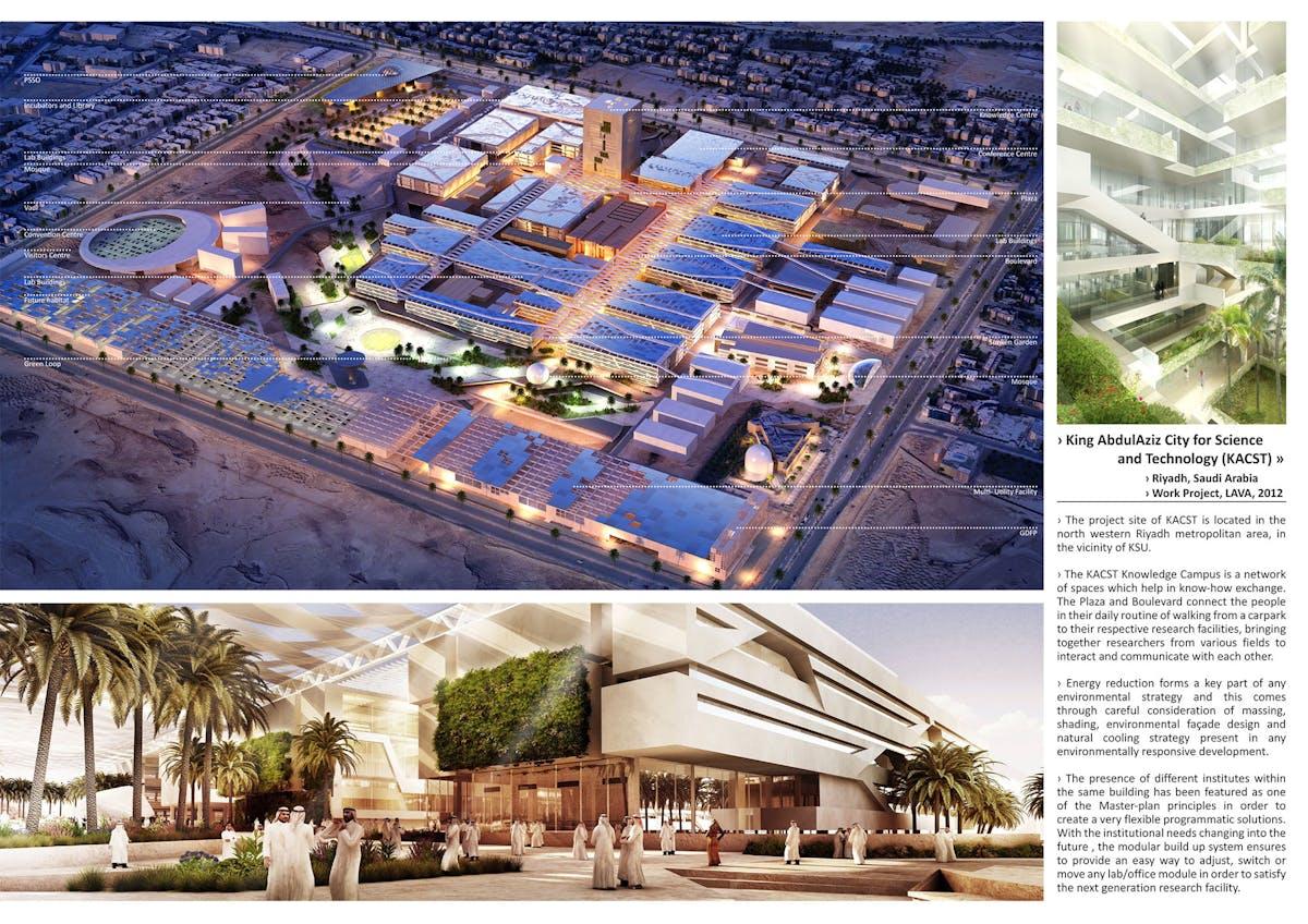 King Abdulaziz City For Science And Technology Kacst Miroslav Strigac Archinect
