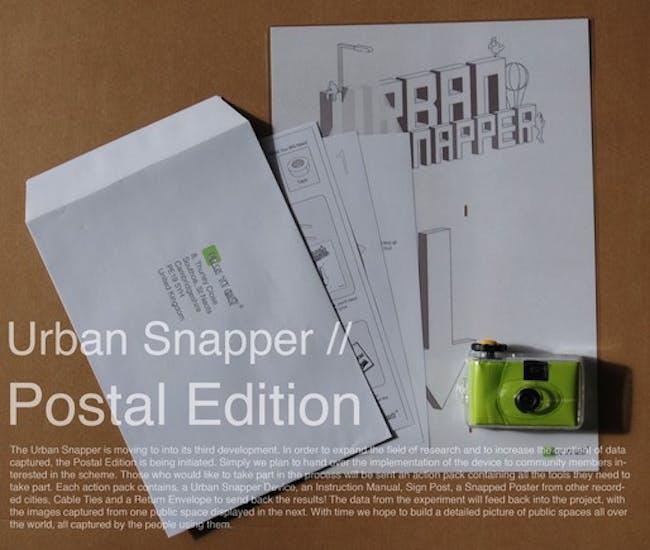 Urban Snapper Postal Edition via Jia Gu