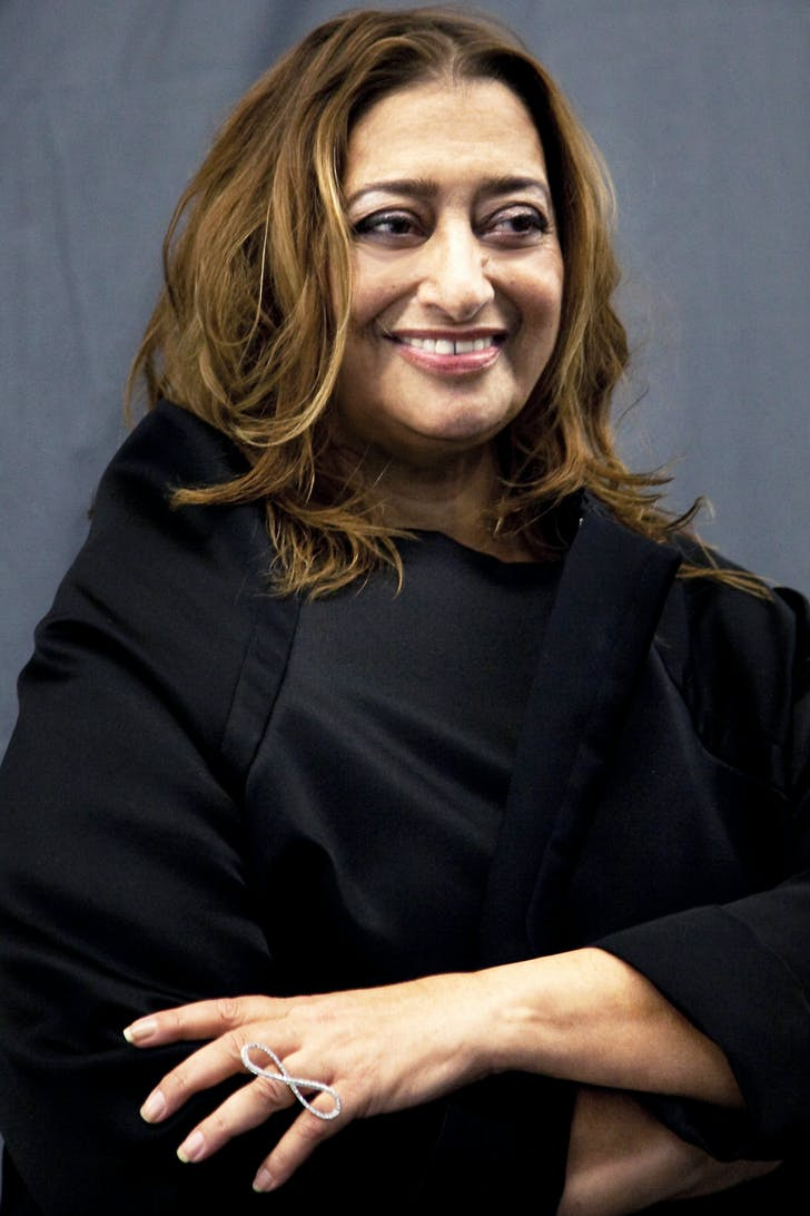 2015's Royal Gold Medalist Zaha Hadid (photo via decollagedesign.com)