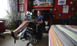 Steve Saling, retired landscape architect with ALS, designs residence he can control by blinking