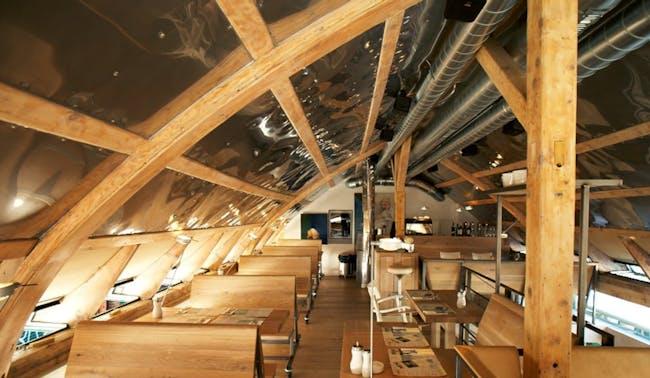 Neni restaurant. Screenshot via Google View, courtesy J. Mayer H.