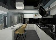 Proiect amenajare casa moderna cu 5 camere