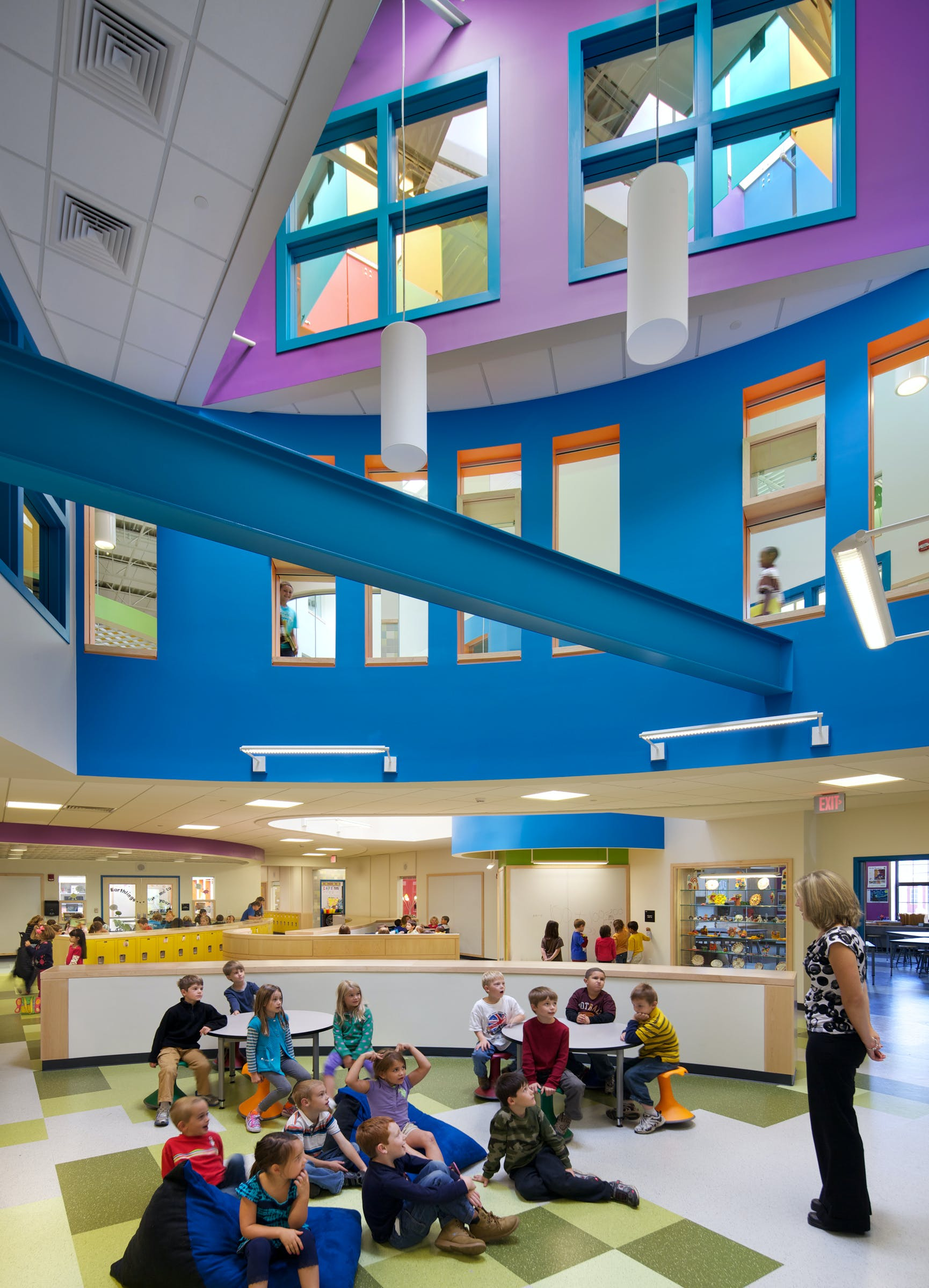 Designed By Hmfh Architects Three Innovative Elementary Schools Open In Concord Nh Hmfh