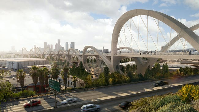 Design Concept Award: Sixth Street Viaduct, Design Architecture Firm: Michael Maltzan Architecture, Inc. Executive Architecture Firm: HNTB Architecture
