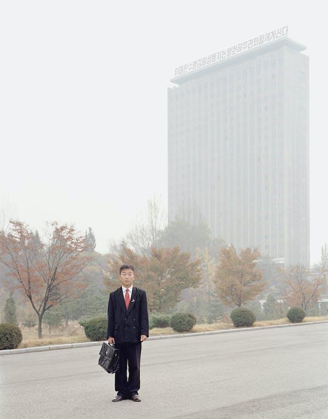 Architect unknown, Kim Il-sung University, Pyongyang, 1946; photo by Charlie Crane, Kim Il-sung University, 2006 © Charlie Crane