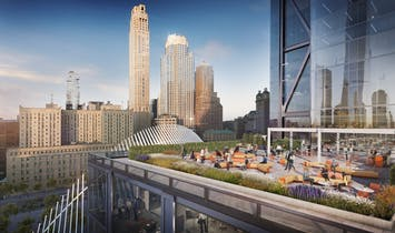 First look at 3 World Trade Center's huge outdoor terrace