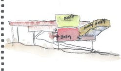 Steven Holl working on master plan study for Williams College