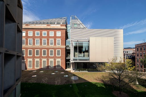 Harvard Art Museums - Renzo Piano Building Workshop by Fred R Conrad/NYT