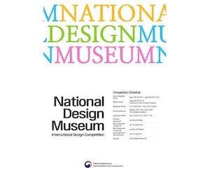 International Design Competition for National Design Museum