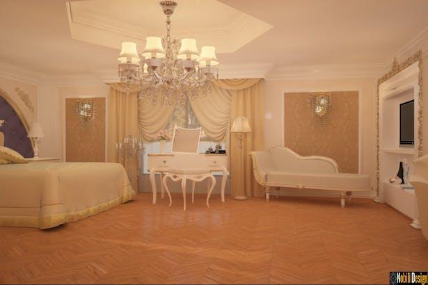 Casa amenajata in stil clasic de lux