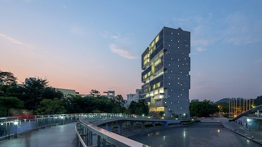 Tsinghua Ocean Center. Photo: Zhang Chao.