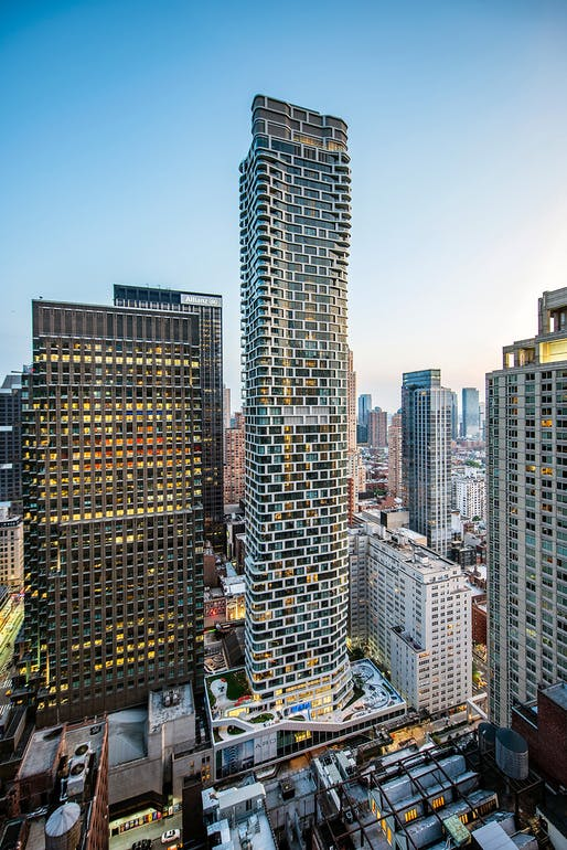 ARO in New York, NY, designed by CetraRuddy Architecture. Photo: Tectonic Photo Royce Douglas