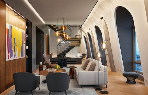 Lakeview Penthouse, Wheeler Kearns Architects. Photo: Steve Hall, Hall + Merrick Photographers.
