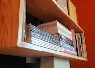Accent Wall Bookshelf