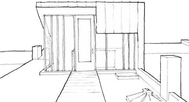 sketch of new bulkhead