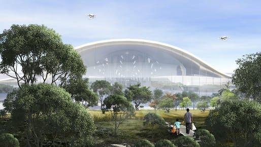 BANIYA, The Green Gateway – Indira Gandhi International Airport, Southern California Institute of Architecture (SCI-Arch), Los Angeles, California, USA