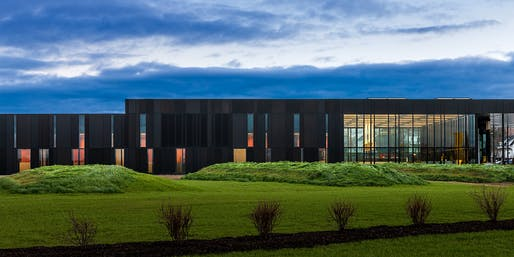 Van Buren Land Port of Entry by Snow Kreilich and Robert Siegel Architects. Photo: Paul Crosby.