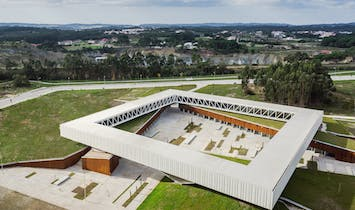 Showcase: Óbidos Technological Park Main Building by Jorge Mealha
