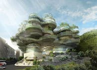 Forest of Wisdom: Conceptual Design for a College in Hong Kong's Mid-Levels