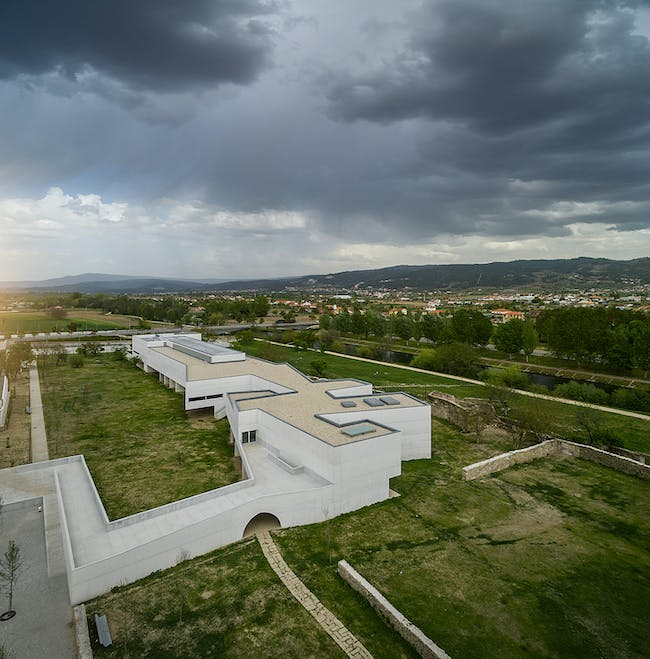 Nadir Afonso Museum for Contemporary Art, Chaves, PT. Image credit: Fernando Guerra