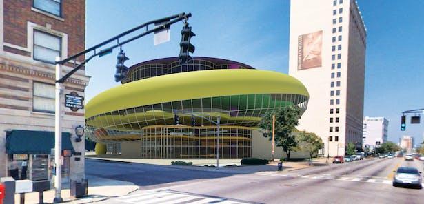 Louisville Children's Museum proposal from West Broadway.