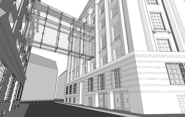 Proposed skybridge