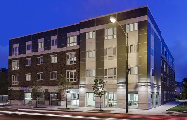 Milwaukee Avenue Apartments / Full Circle Communities / Cordogan Clark & Associates Architects