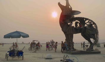 French architect will use robotic tools to build 2018 Burning Man Temple