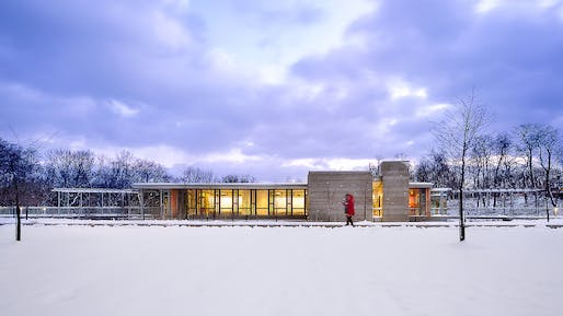 The Frick Environmental Center. Photo: Denmarsh Photography.
