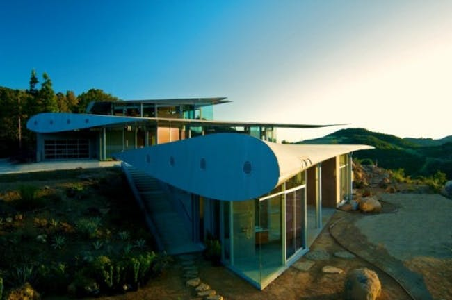 747 Wing House by David Hertz Architects