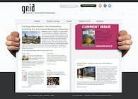 Website ReDesign for Grid Magazine