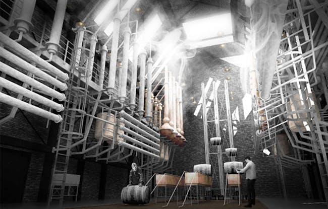 Special Mention/Interior Architecture: The Augmented Distillery, Matt Drury, UK