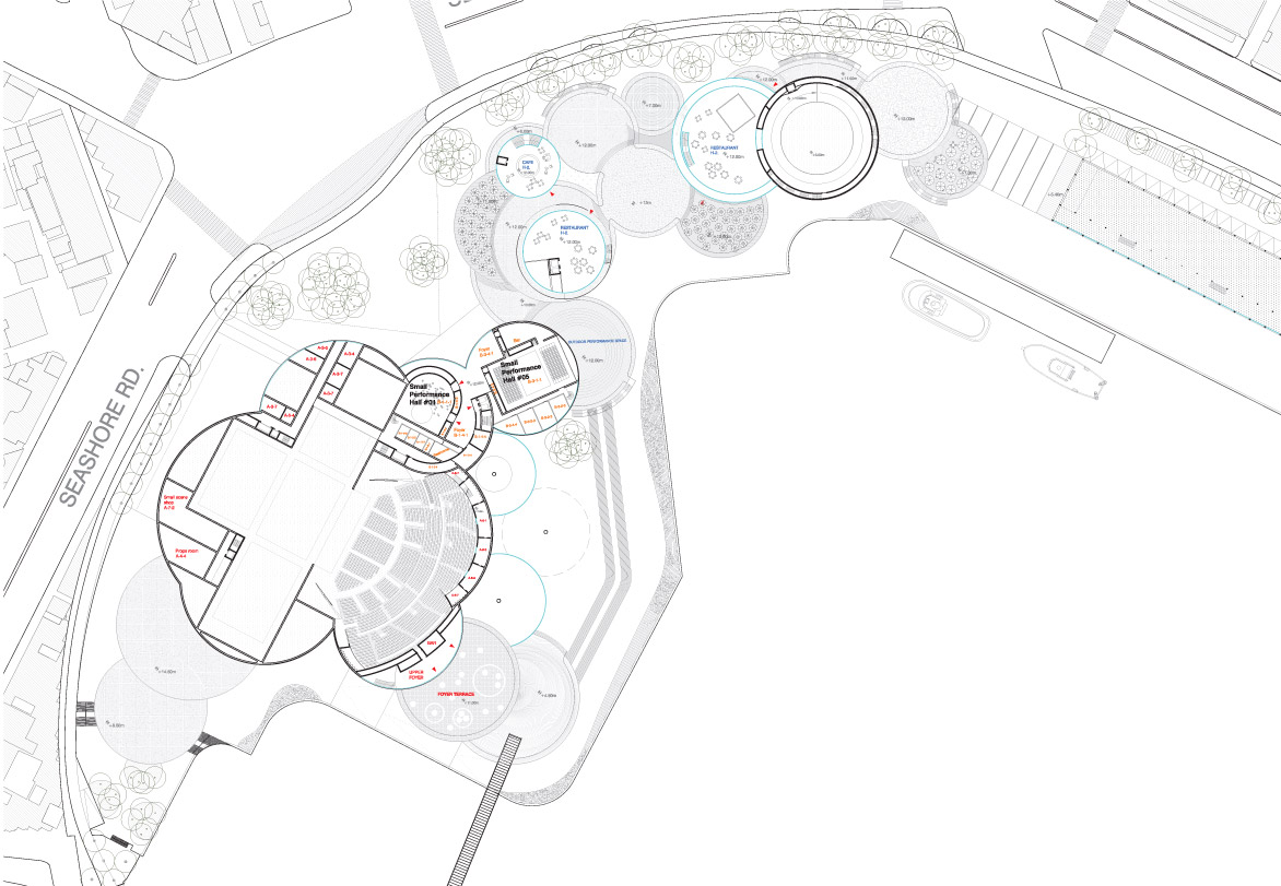 Kaohsiung Maritime Cultural & Pop Music Center Proposal by