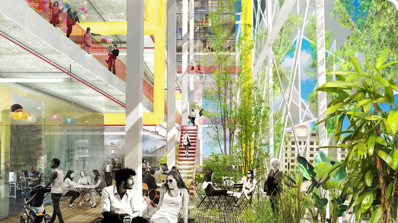 Ecosistema Urbano envisions public bioclimatic domes for the future ...