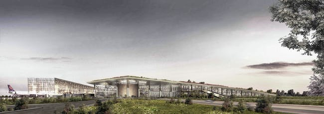 FUTURE PROJECTS - INFRASTRUCTURE: Cukurova Regional Airport Complex / Turkey. Designed by Emre Arolat Architects