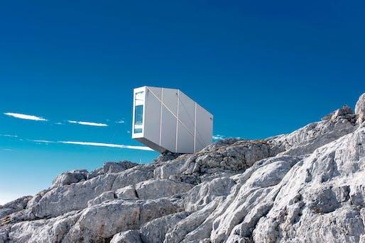 OFIS Winter Cabin on Mount Kanin. Photo credit: Janez Martincic