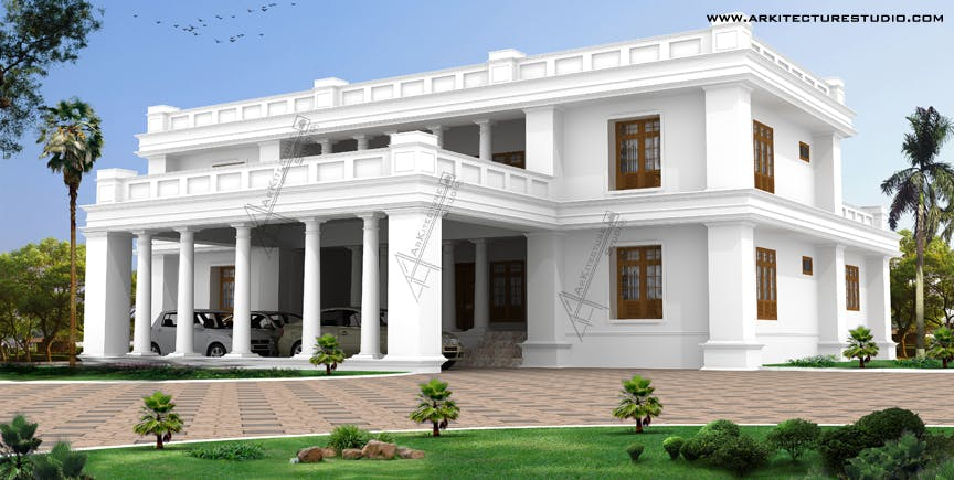 Kerala home design luxury homes arkitecture studio for Mobel kolonial style