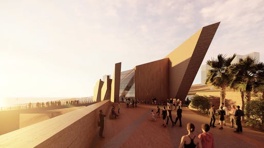 Studio Libeskind, Regional Anthropological Museum of Iquique in Chile. Image courtesy of the firm.
