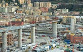 Construction of Renzo Piano-designed Genoa Bridge reaches milestone