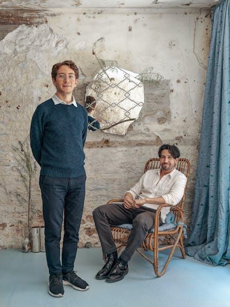 Adam Charlap Hyman (left) and Andre Herrero (right). Photo courtesy of Federico Torra.