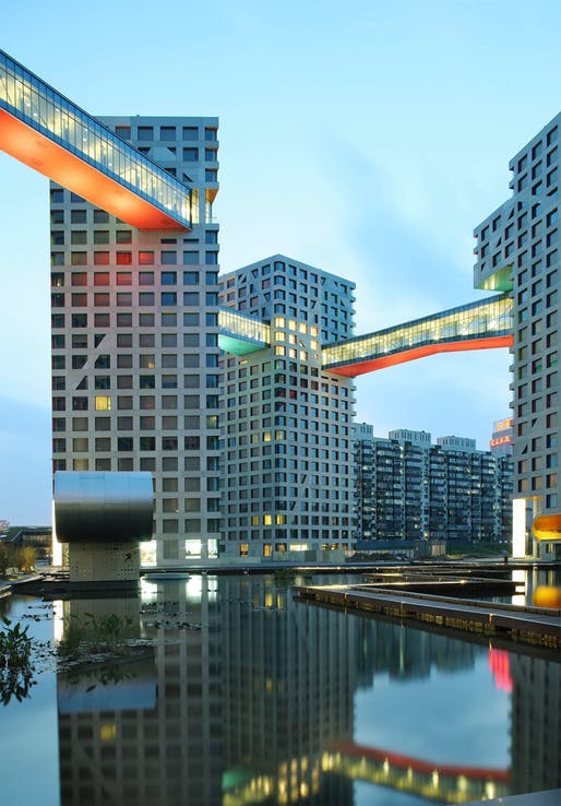 Linked Hybrid by Steven Holl Architects. Photo: Shu He.