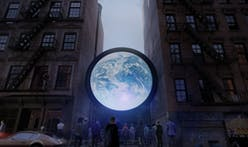 "Artist Sebastian Errazuriz to project livestream of Earth in 20-foot ""blu Marble"" installation in Manhattan"