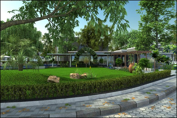 Clubhouse Rendering Version 2